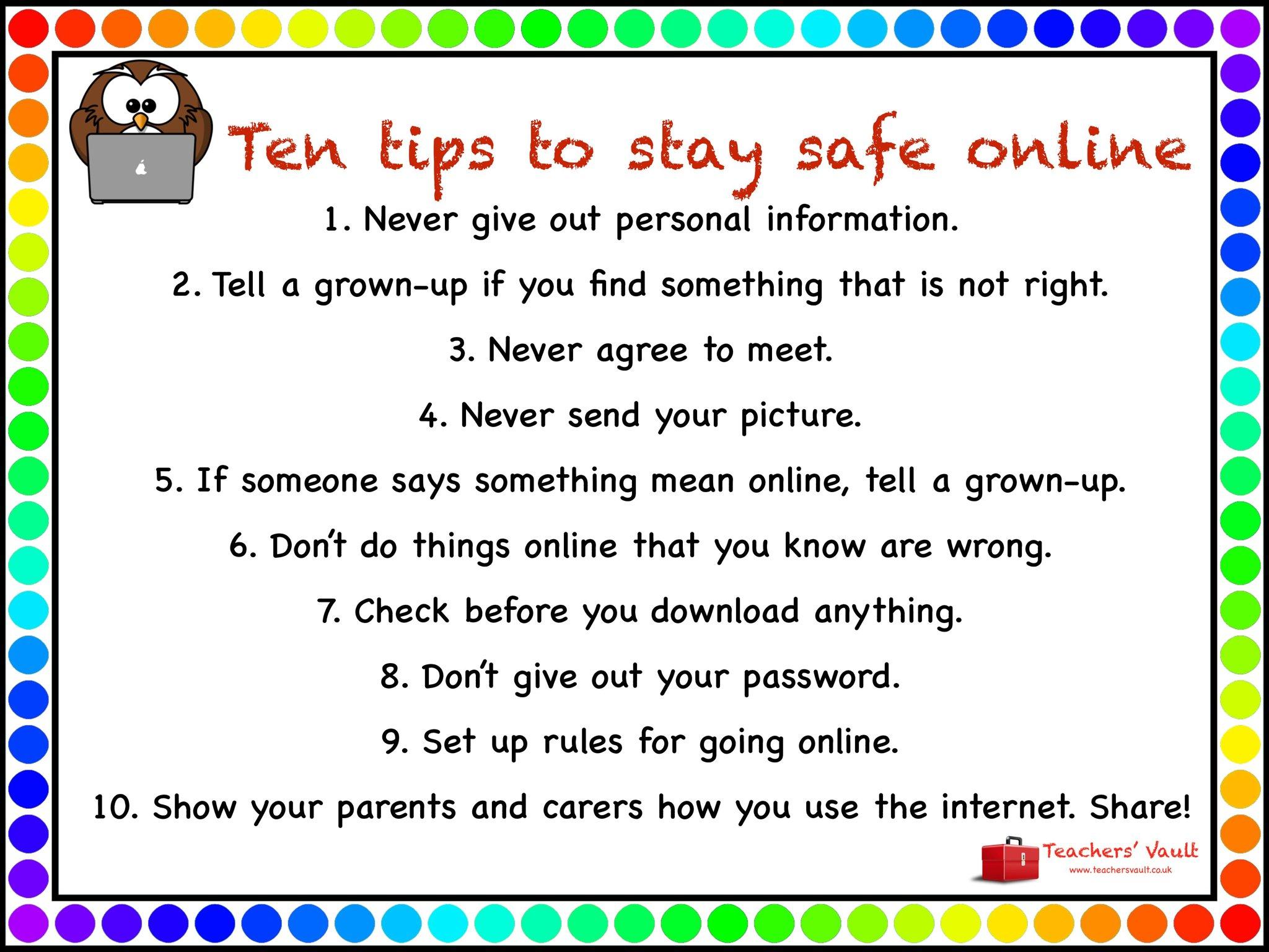 Keeping Safe Online Ovingham Middle School