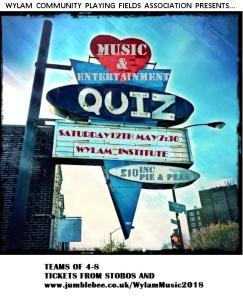 Poster music quiz 2018