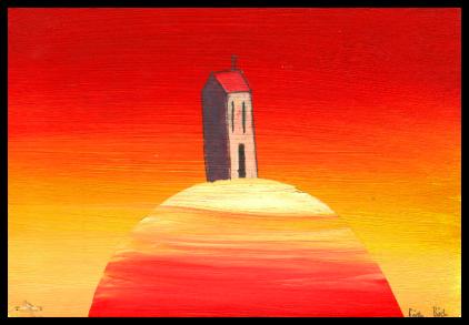 Sunset house