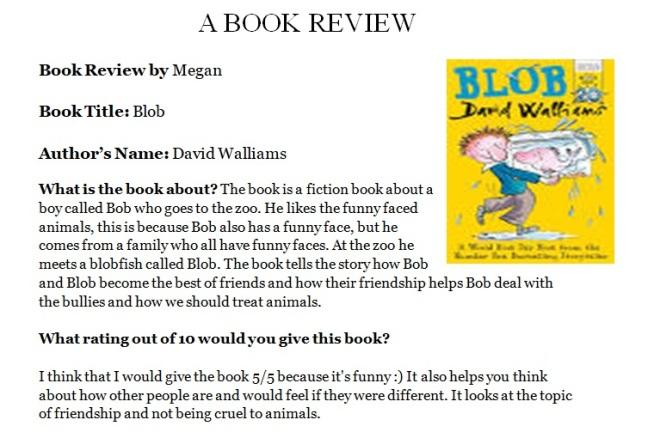 Megan book review 1