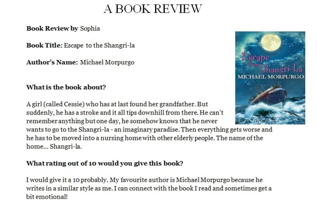 Sophia book review 1